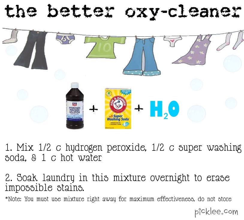 Diy 39 The Better Oxy Cleaner 39 Trusper