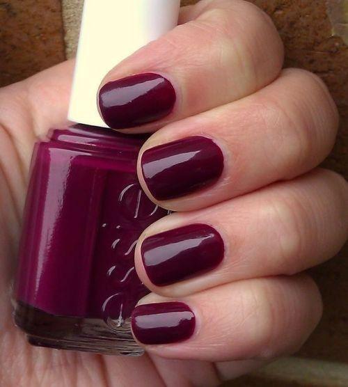 Essie Fall Nail Colors: Luxurious Deep Plum By Essie