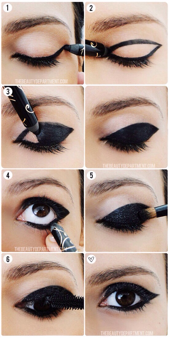 """Eye Makeup That Looks Great With Brown Eyes👀✨(👍 It If You""""like"""" It)"""