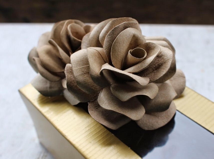 DIY Handmade Roses From TP Tubes. 😍