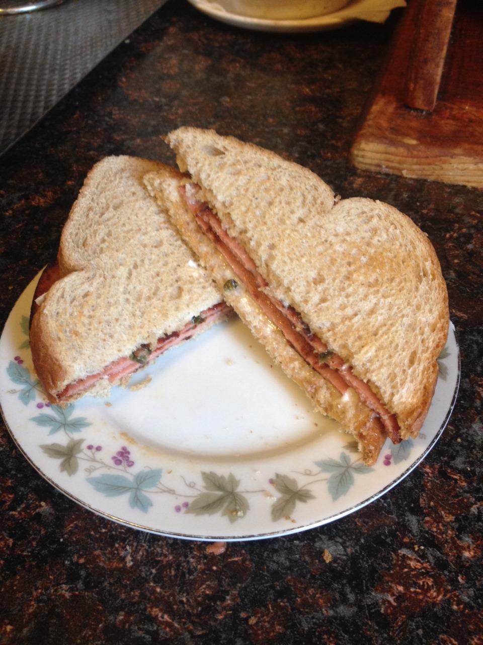 how to make a fried sandwich