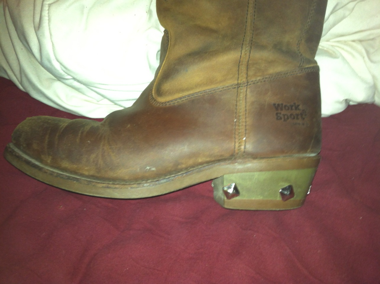how to fix ur boots with goop glue
