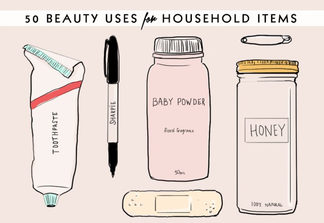 50 brilliant beauty uses for common household items trusper - New uses common items ...