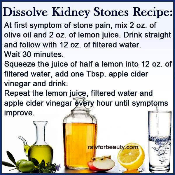 Natural Products To Dissolve Kidney Stones