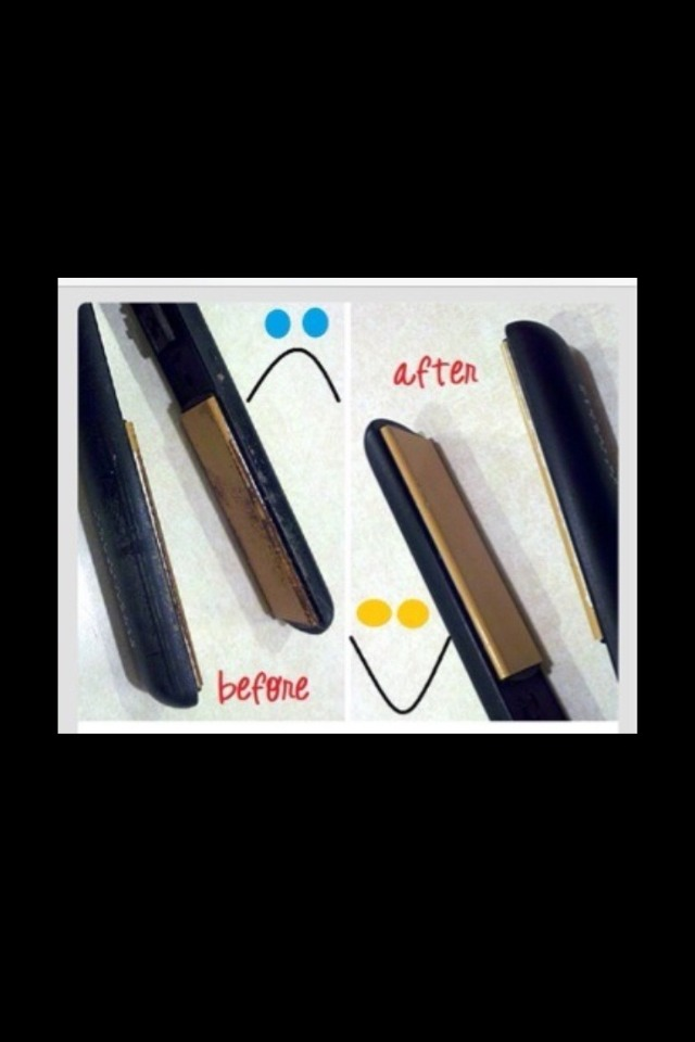 How To Clean Your Flat Irons