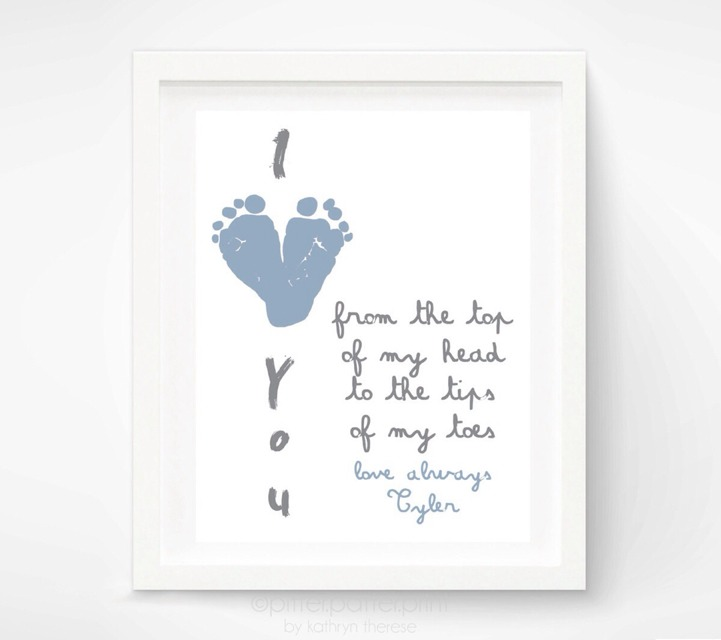 💙👶First Fathers Day Gift For New Dad! So Cute!👶💙