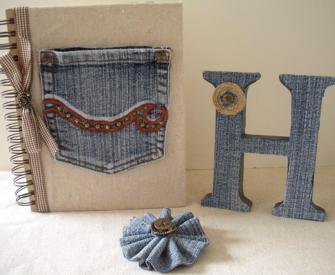 Ways to use old jeans trusper for Old denim