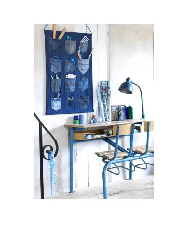 jean pocket hanging desk organizer trusper