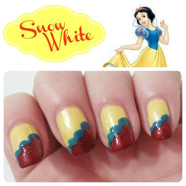 Princess Themed Nails: Disney Princess Inspired Nail Art