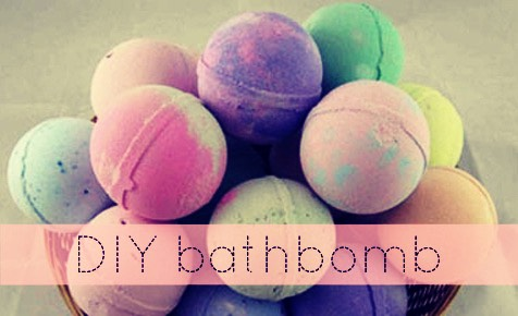 how to make bath bombs with cream of tartar