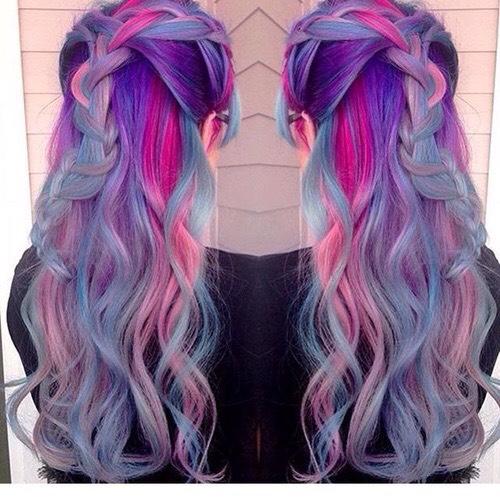 natural hair dye colors ideas