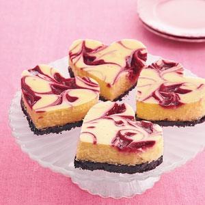 Raspberry-White Chocolate Cheesecake Bars | Trusper