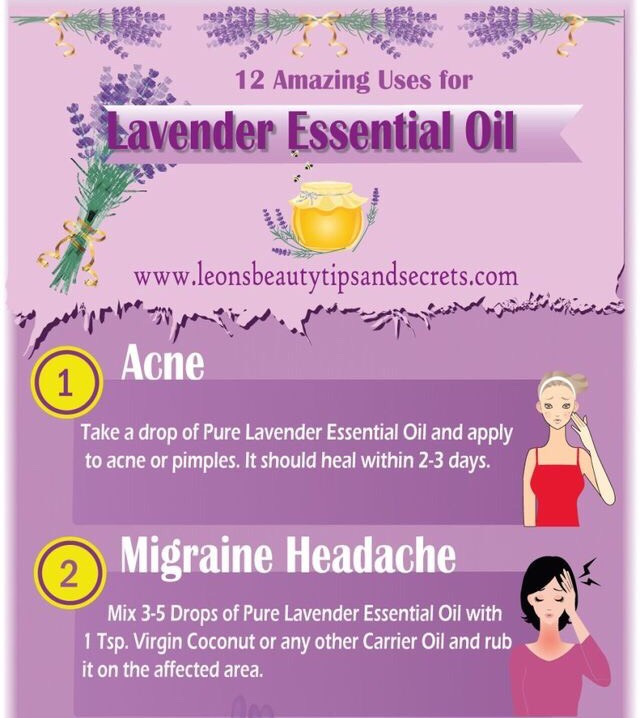 12 Amazing Uses For Lavender Essential Oil 💜