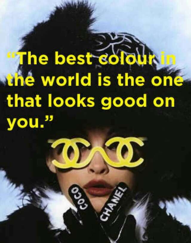 15 Chanel Coco Quotes To Live By! (Coco Me Me Do It! lol)
