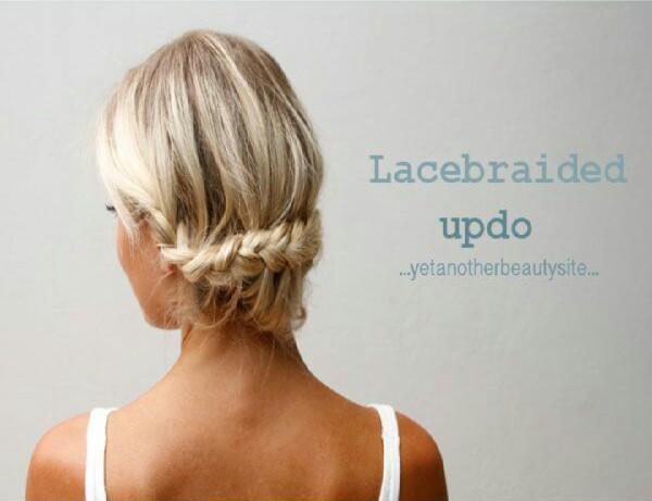 Lace Braid Updo!!