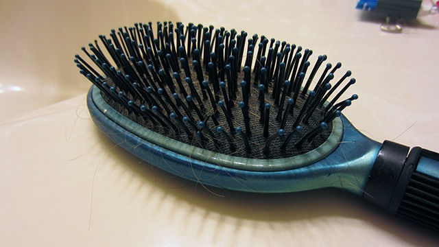 Keep A Clean Hairbrush!