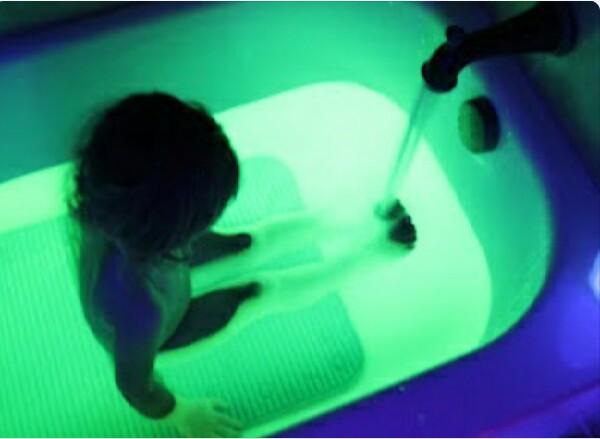 Glow In The Dark SAFE Bath Water Trusper