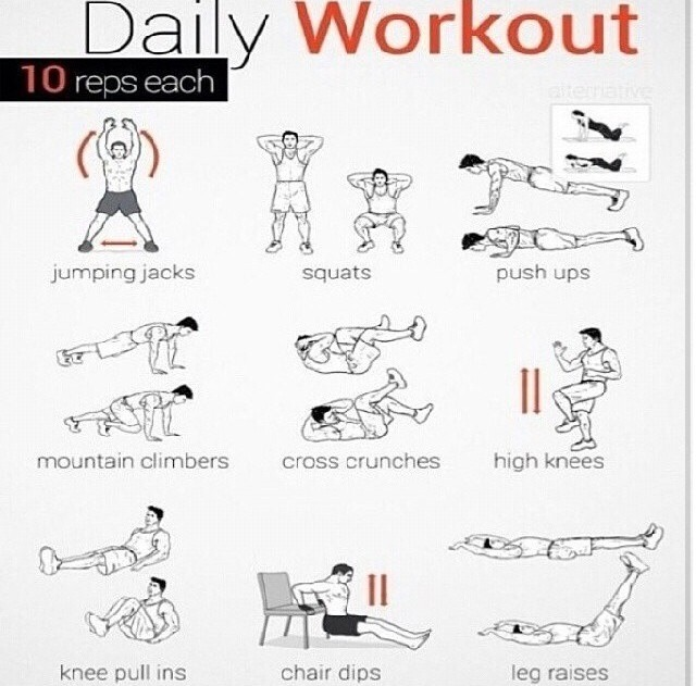 good cardio exercises  easy to do at home