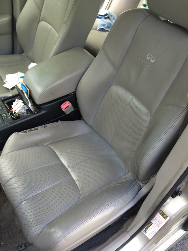 how to clean nicotine stains off car interior