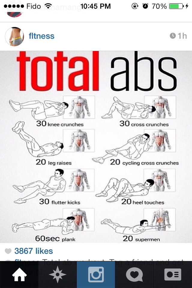 Ab Workouts With Pictures 98