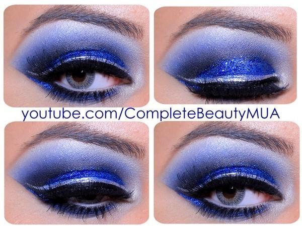 Royal Blue Eye Makeup!!! : Trusper