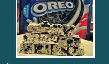 How To Make Oreo Fudge!!(: Delicious!!!(: ❤️❤️❤️ #tipit