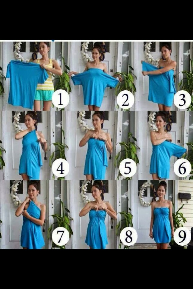 how to make a cute dress easy