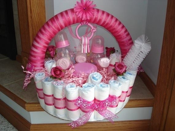 Baby Girl Gift Ideas: Cute Baby Shower Decorations, Gift Ideas.