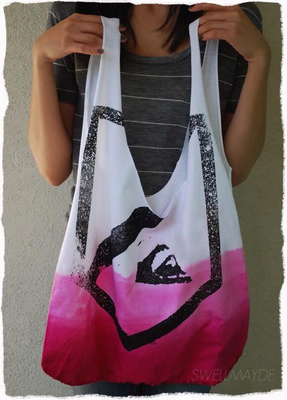 Diy Roxy T Shirt Tote Bag Trusper