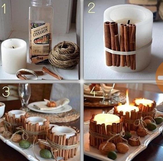 Diy cinnamon stick holiday decor ideas trusper How to make the house smell like cinnamon