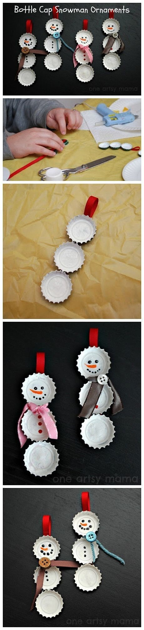 Cute christmas tree decorations to make at home trusper for Cute christmas decorations