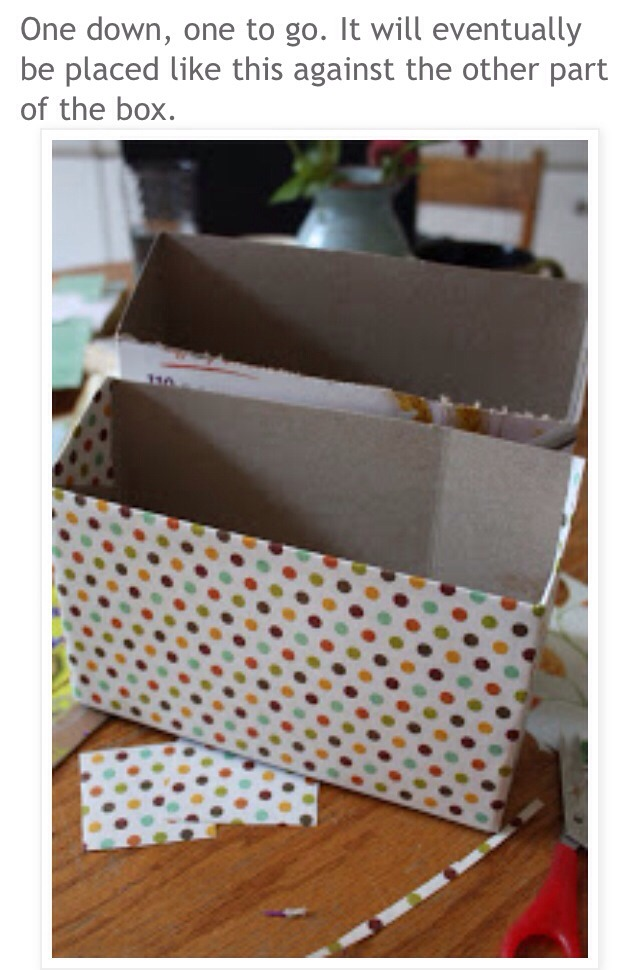 cereal box stationary organizer tutorial trusper