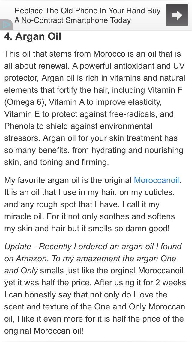 Top 10 Beauty Oils