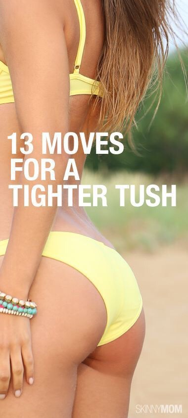 Saggy Booty Be Gone! 13 Moves To Tighten Your Tush