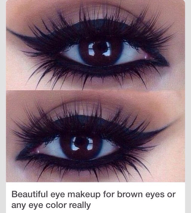 Makeup For Brown Eyes 😍😍