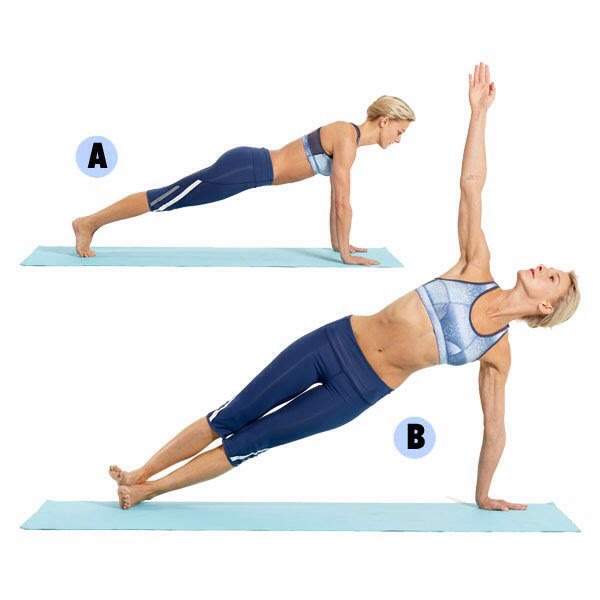 pics 7 Yoga Poses That Will Sculpt Your Side Abs