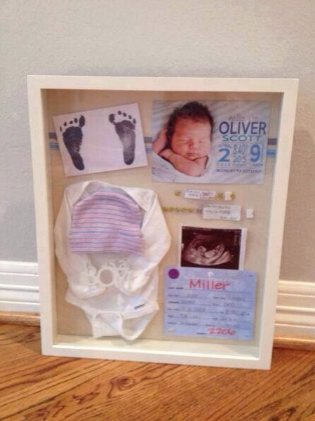 Newborn Shadow Box Ideas For Keeping The Memories!! 😍