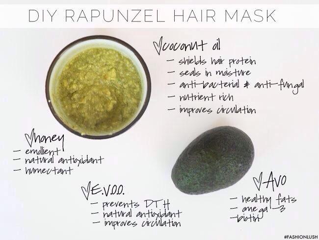 Diy Rapunzel Hair Mask Trusper