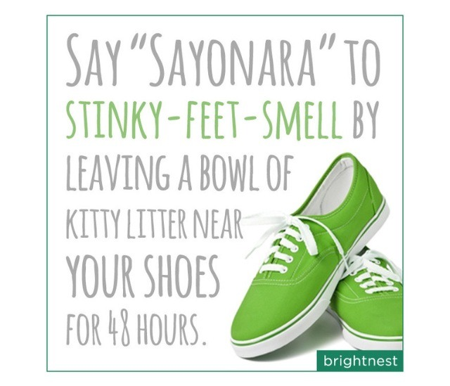 """"""" Easy Way To Get Rid Of Shoe Odor"""""""