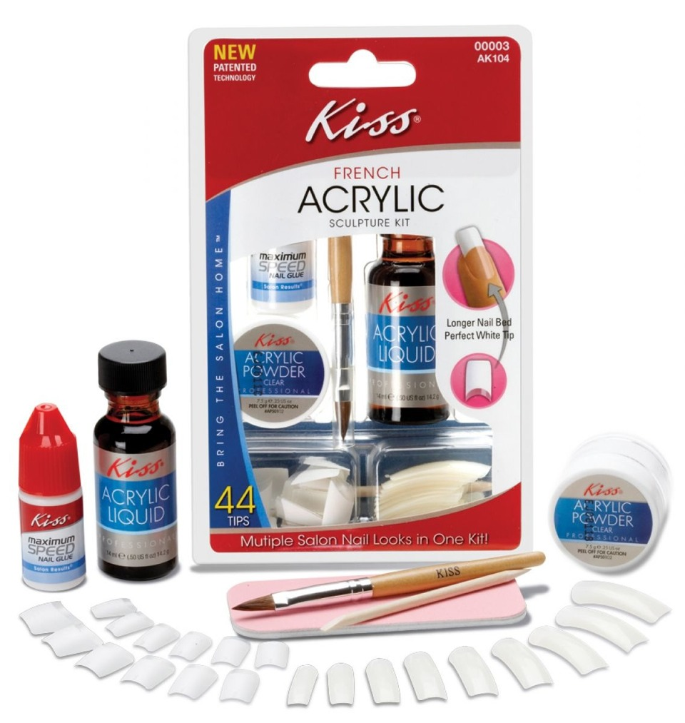 Acrylic Nail Kit! Under $20 At Your Local Walmart Or