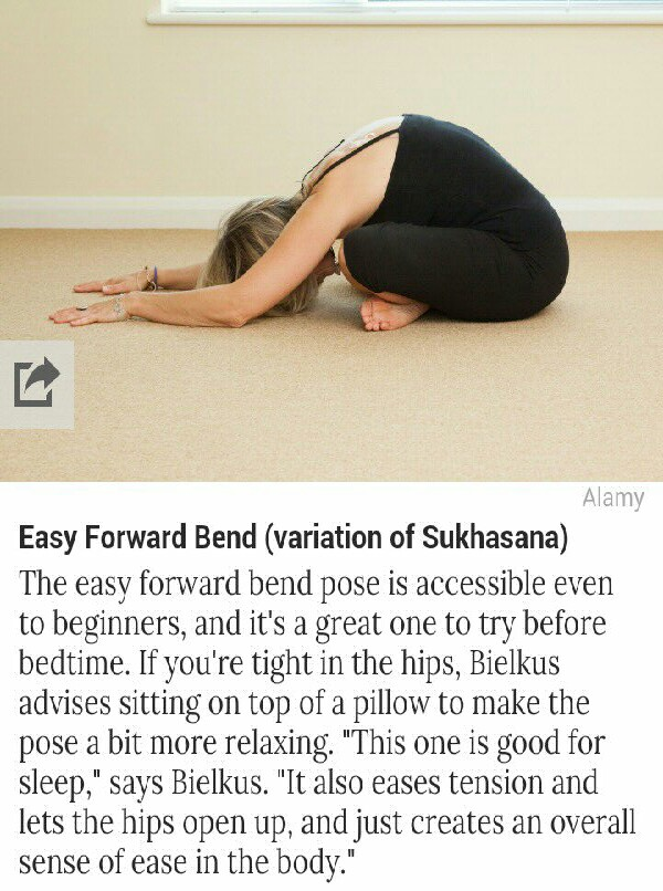 10 yoga poses for better sleep