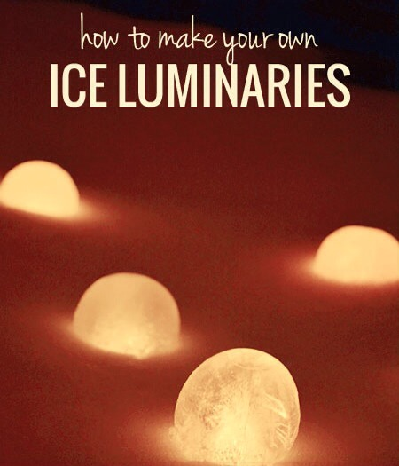 Ice Luminaries.