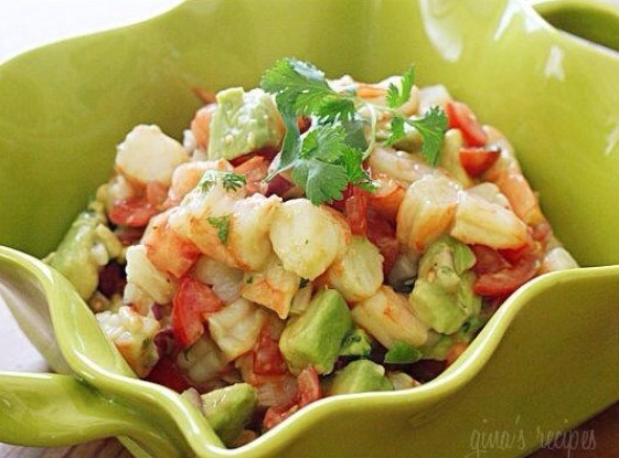 Zesty Lime Shrimp and Avocado Salad. Healthy, Yummy & For Weight ...