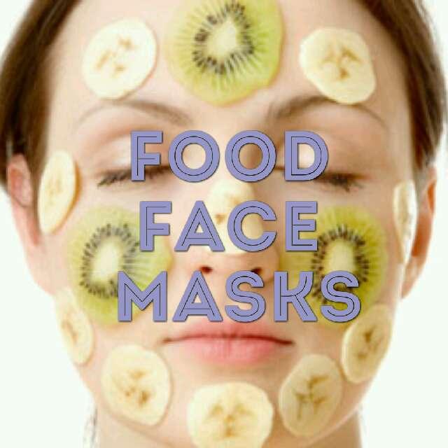 Simple Facial Masks Using Food #springforward