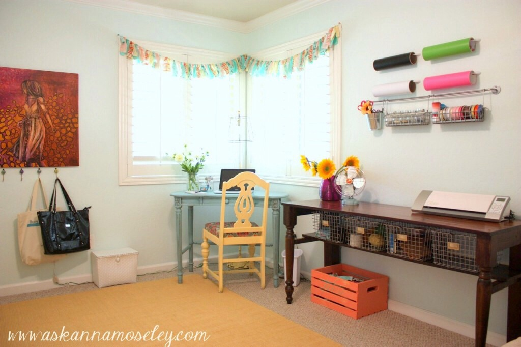 How to Organize a Craft Room Work Space  Pinterest