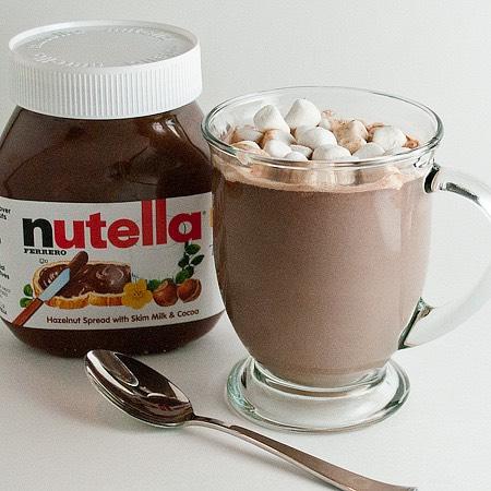 Nutella Hot Chocolate👅