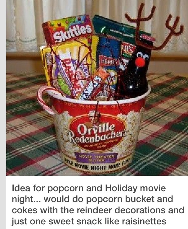 4 do you know someone who loves to have movie nights bring the movie theater to their home with a bucket filled with anything you would find at the movie