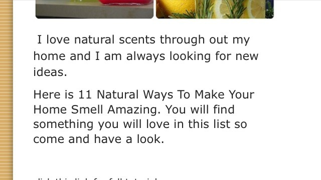11 natural ways to make your home smell amazing ok 2 for Things to make your house smell good