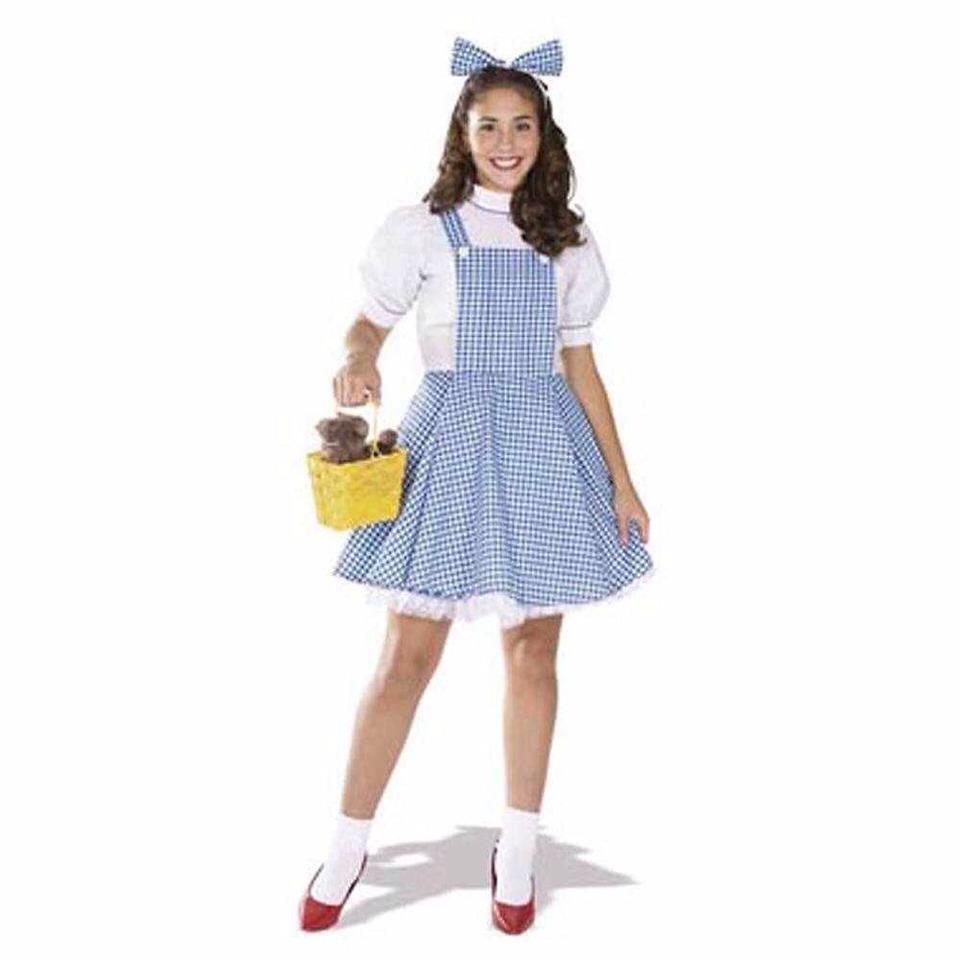 Diy Halloween Dorothy Costume Trusper