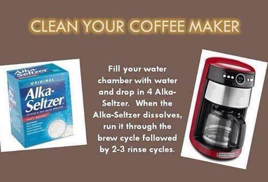 Coffee Maker Cleaning Hacks : Clean Coffee Maker Trusper